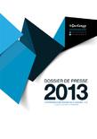 Dossier de presse 2013 - Activité 2012