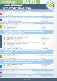 Agenda Développement Durable 2017