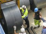Manutention de bobines d'acier