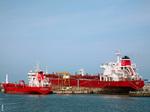Navires aux appontements du Port Est
