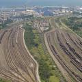 Réseau Ferroviaire au Port Est de Dunkerque