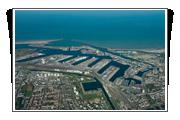 Vue aérienne des Darses du PortEst