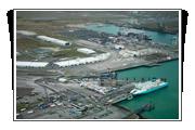Vue aérienne du Port Ouest