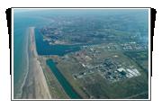 Vue aérienne du Port Central de Dunkerque Port