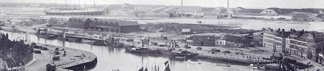 Ecluse de la Citadelle en 1853