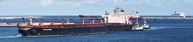 Mouvement de navires au Port Ouest