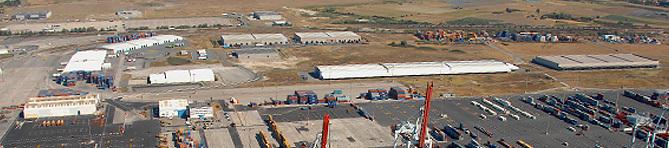 Zone logistique du Port Ouest
