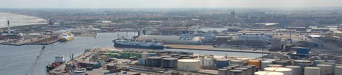 Vue générale du Port Est