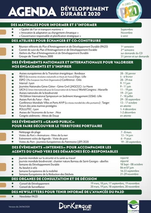 Agenda DD 2020