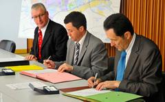 Signature des Conventions